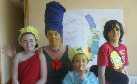 Childcare Glengarriff - the Simpsons!